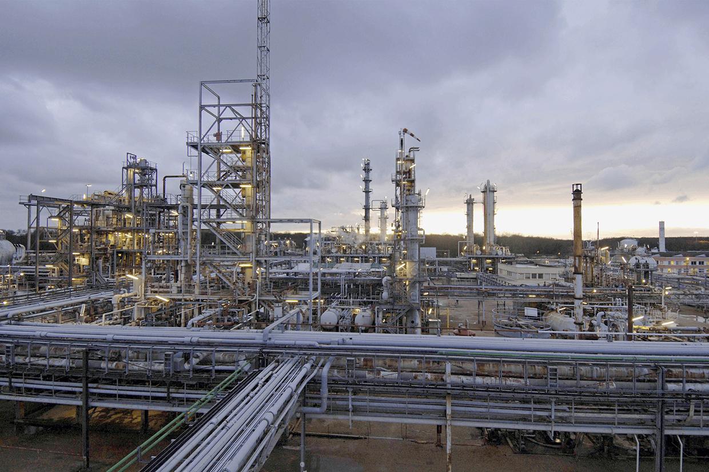 Индустриална химия